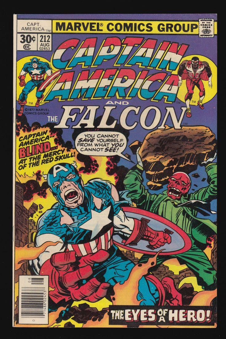 Captain America #212 (Aug. 1977)                                                                                                                                                                                 More