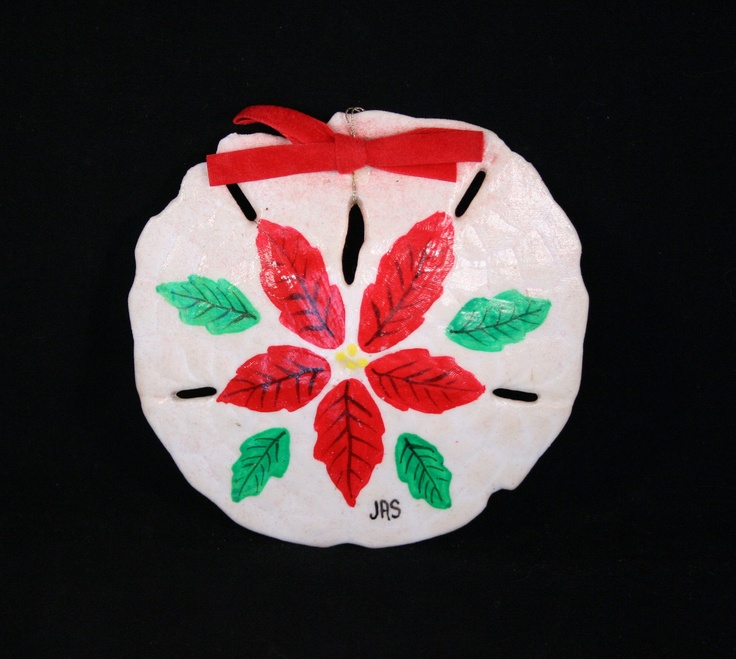 Commercial Christmas Decorations Florida: 17 Best Ideas About Painted Sand Dollars On Pinterest