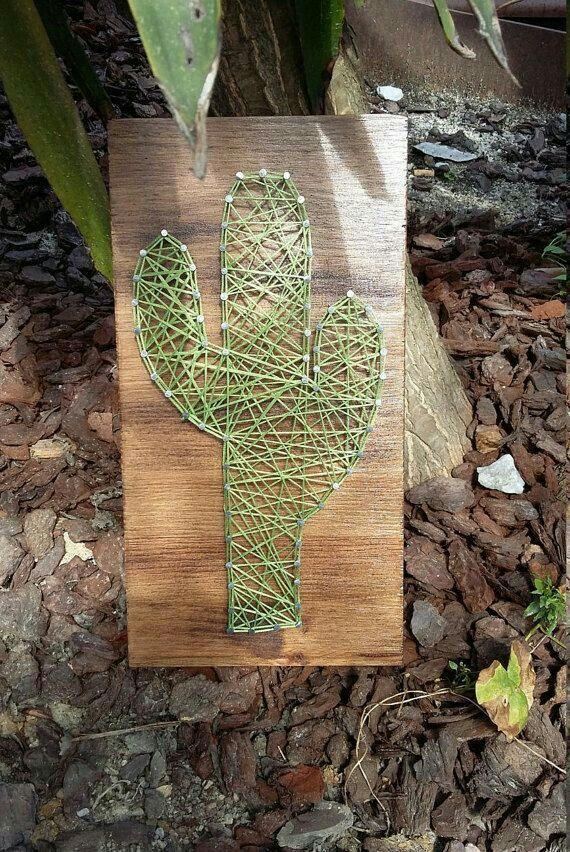 Idée créative épinglée par l'Atelier de la création www.atelierdelacreation.com ** cactus
