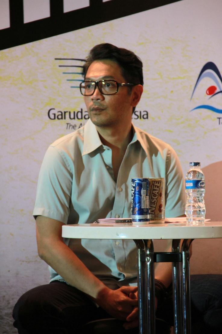 Eki Puradiredja program coordinator Java Festival Production at Java Rockin'land's Press Conference 2013