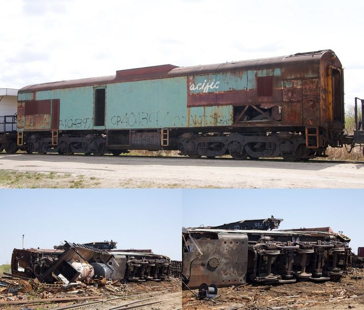 Ross Harrison took these photos of the demise of former CP Robot car  404397.  The FM shell and trucks were scrapped at General Scrap and Car Shredder during May and June of 2010 following a purge of surplus equipment stored in Transcona.  Some of the material purged was simply  scrapped onsite if  unable to safely move to Mandak.