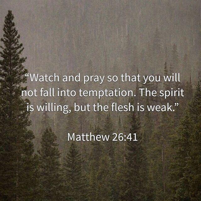 Matthew 26:41.