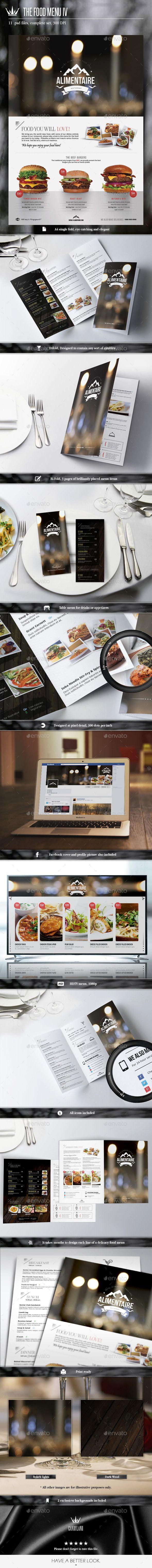 Menu Pack Template #design Download: http://graphicriver.net/item/menu-pack-4/10254730?ref=ksioks