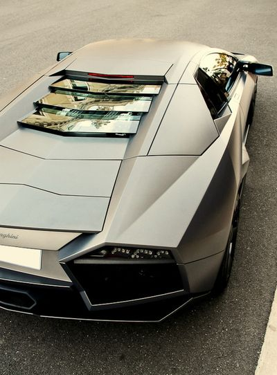 The Aventador is my all time favorite super car but then Matt Campbell informed me that this is a Reventon. Now I have two! The lines and aggressive structure of it's body is just too perfect for me.
