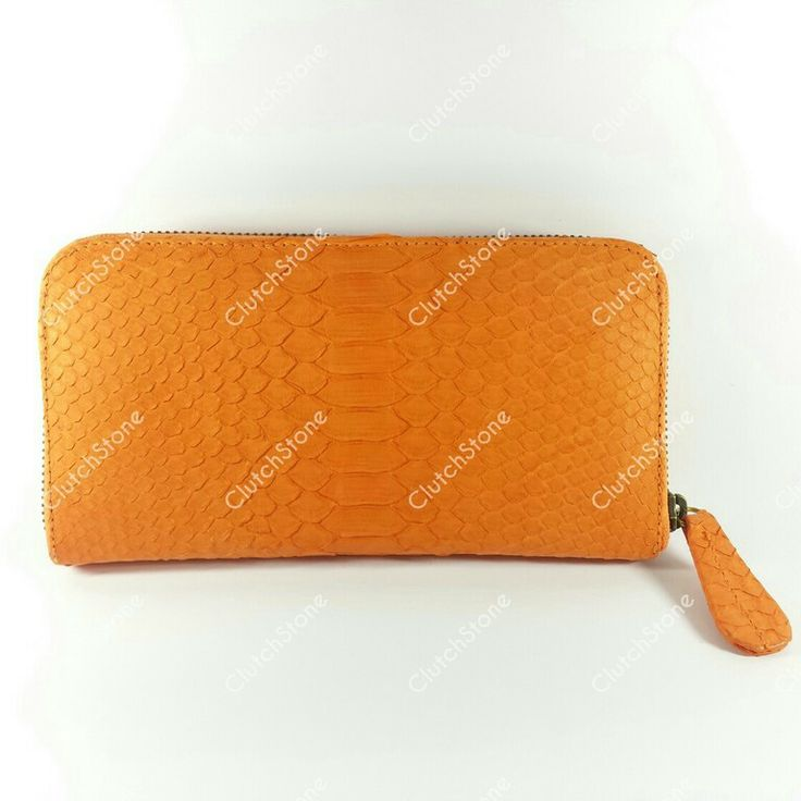 Wallet python polos orange size 10x19, IDR : 385.000 exclude shipping