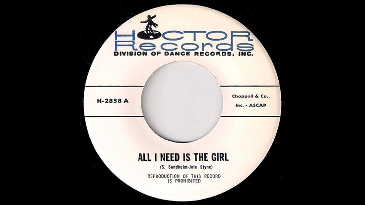The Hoctor Band - All I Need Is The Girl [Hoctor] Jazz Swing Oldies 45