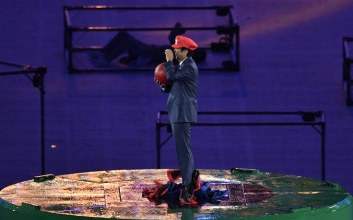 Japans Prime Minister emerges as Super Mario during Rio Olympics closing ceremony   (Photo credit: Telegraphand AFP)  The prime minister of Japan Shinzo Abe made a spectacular appearance at the closing ceremony of the 2016 Summer Olympics in Rio de Janeiro Brazil. The footage begins with a bright animation of Mario in Tokyo alongside Doraemon and has him jumping down a green pipe with a red ball plummeting into the earth to emerge from Maracana stadium where the ceremony was held. Mario…