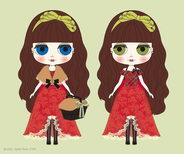Blythe illustration Red Delicious
