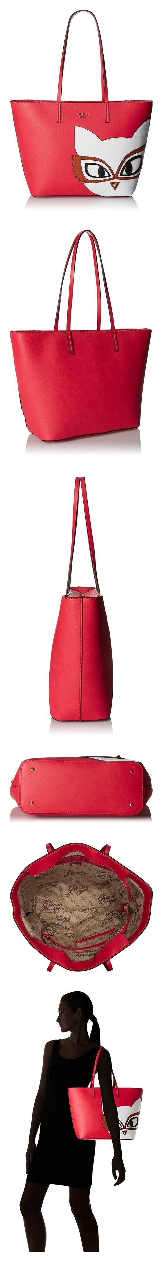 $98 - GUESS Clare (Vc) Tote Red #guess