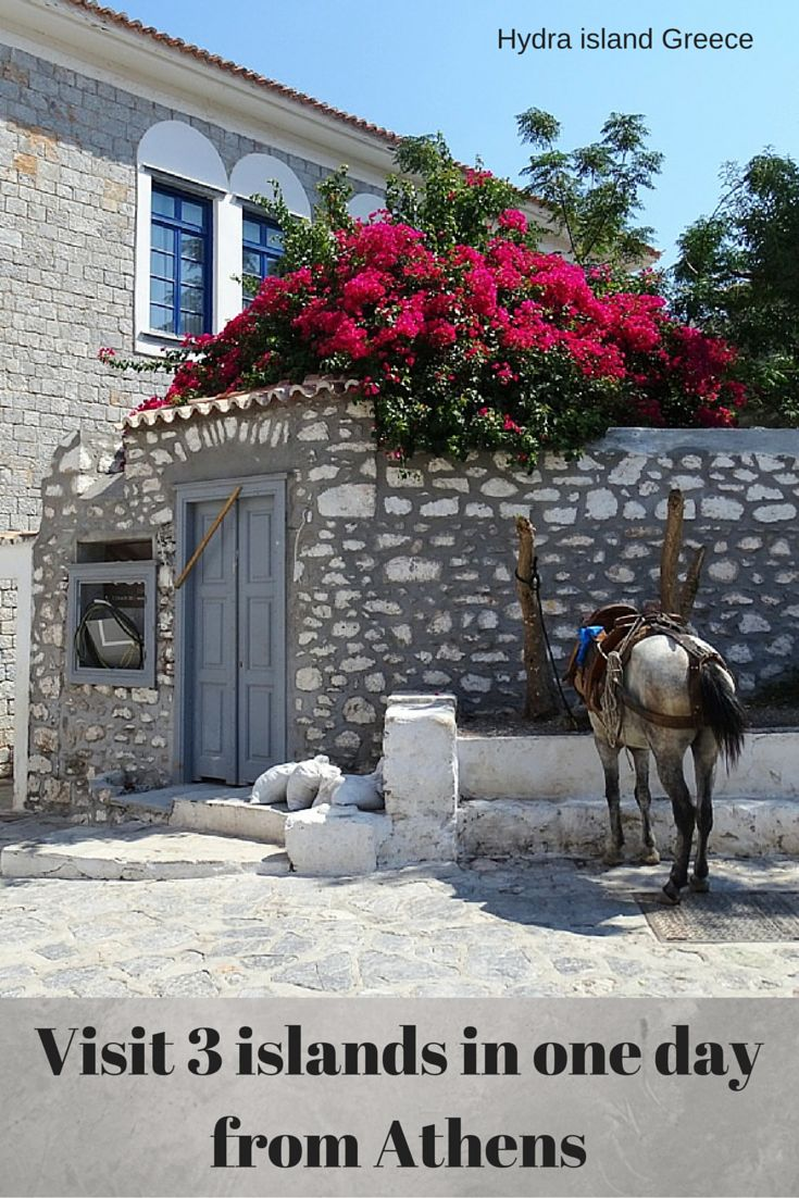 Visit 3 Greek islands, Poros, Hydra and Aegina as day trip from Athens. An amazing cruise!