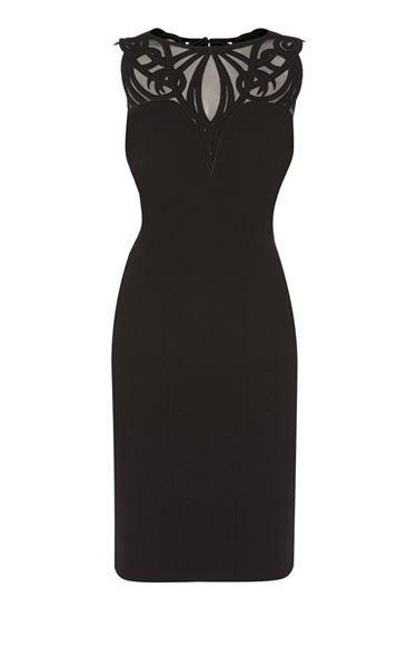 Платье карен миллен кружевное с рукавами