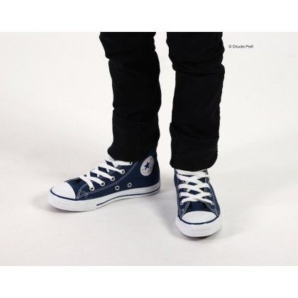 Converse Kids Youth Chucks Hi Canvas Navy Youth