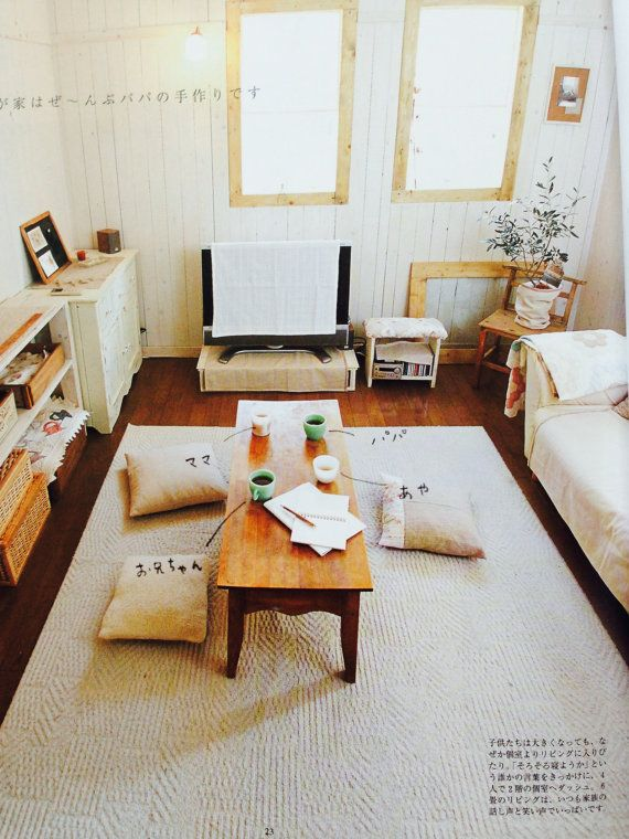 Come Home Japanese Magazine Vol 3 BedroomJapanese ApartmentJapanese InteriorJapanese DecorJapanese StyleOne