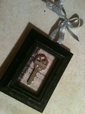 First Home Key- this would be a romantic Christmas gift :)