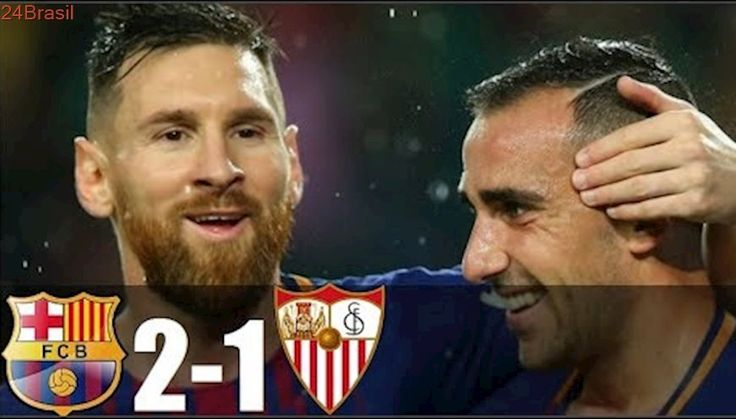 Barcelona 2 x 1 Sevilla - Melhores Momentos - MESSI COMPLETOU 600 JOGOS PELO BARÇA ! La Liga 2017