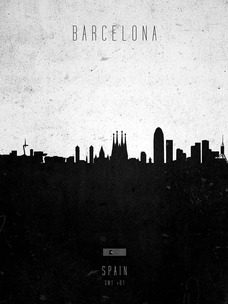 Barcelona Contemporary Cityscape 11 best Barcelona Map