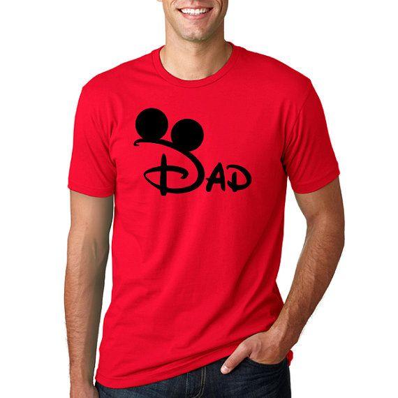 Disney Mickey papá camisa de Disney / / familia por HimAndGem