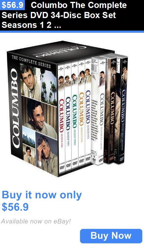 cds dvds vhs: Columbo The Complete Series Dvd 34-Disc Box Set Seasons 1 2 3 4 5 6 7 New BUY IT NOW ONLY: $56.9