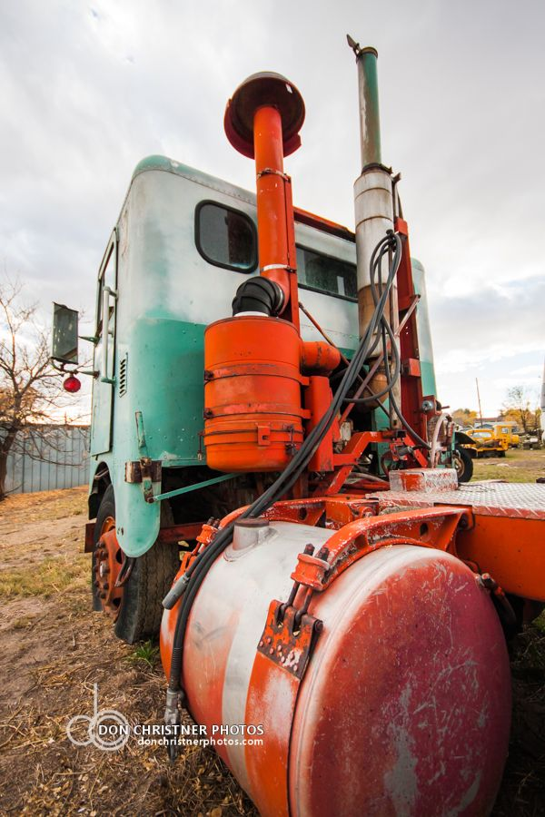 Reader and sometime content contributor Don Christner, based in Wyoming, took all of these classic cabover photos at a military-supply store called Supply Sargent in Cheyenne this past weekend. Gre…