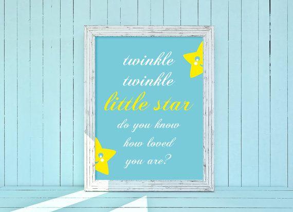 Twinkle  Baby Nursery: Poster Camera Bimbi Stampe di LiLABgraphic