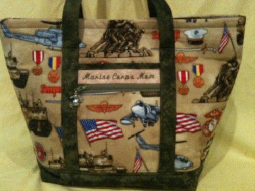 Custom Embroidered USMC Totes by Marine Corps Mom: Us Marines, Marines Corps Mom, Embroidered Usmc, Custom Embroidered, Corps Totes, Awesome Custom, Totes Marines, Marines Mom, Marine Corps