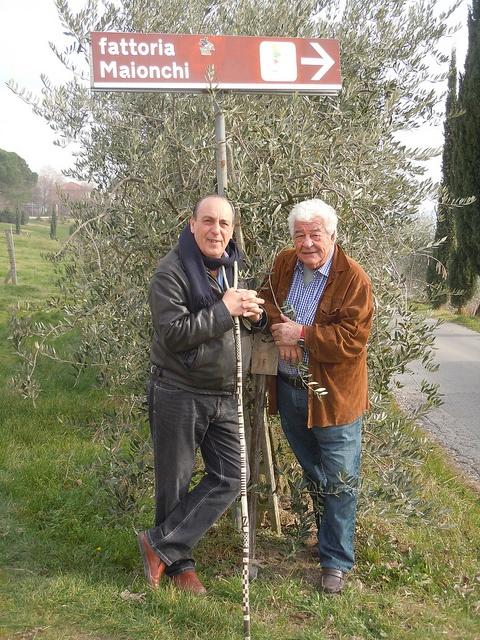 Two Greedy Italians Antonio Carluccio e Gennaro Contaldo in Fattoria Maionchi, Tuscany
