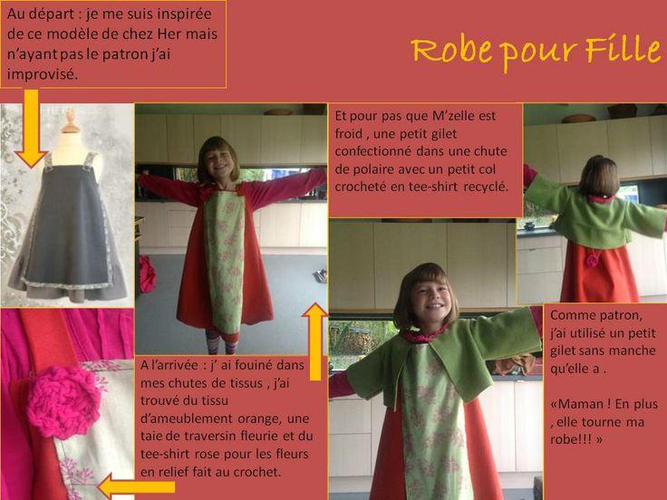 Tuto robe-pour-fille | Robe fille, Robe, Vetement enfant