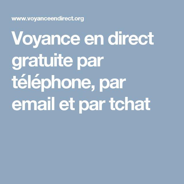 Voyance en direct gratuite par téléphone, par email et par tchat