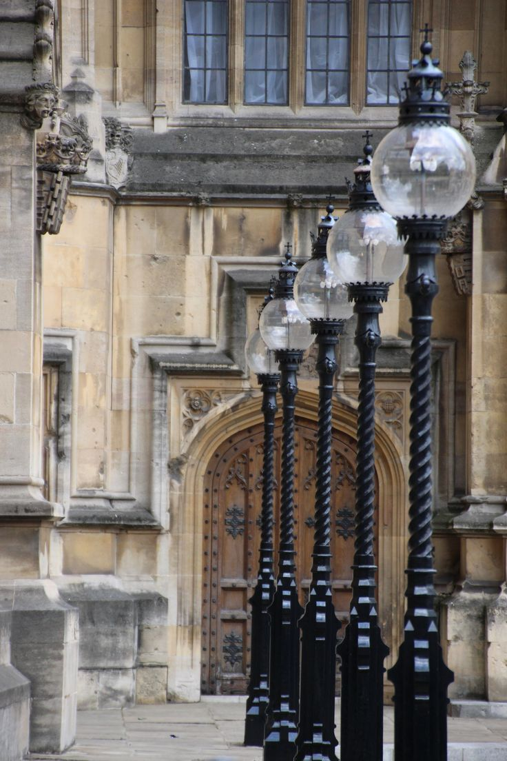 I found these lamps in a little side access around the Houses of Parliament in London, taken 20 July 2013.