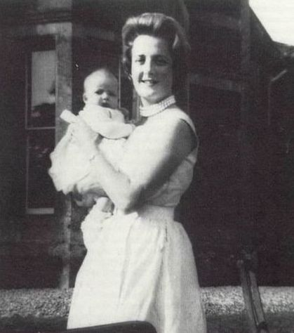 Lady Diana Photo Album | Lady Diana with mother Frances Spencer