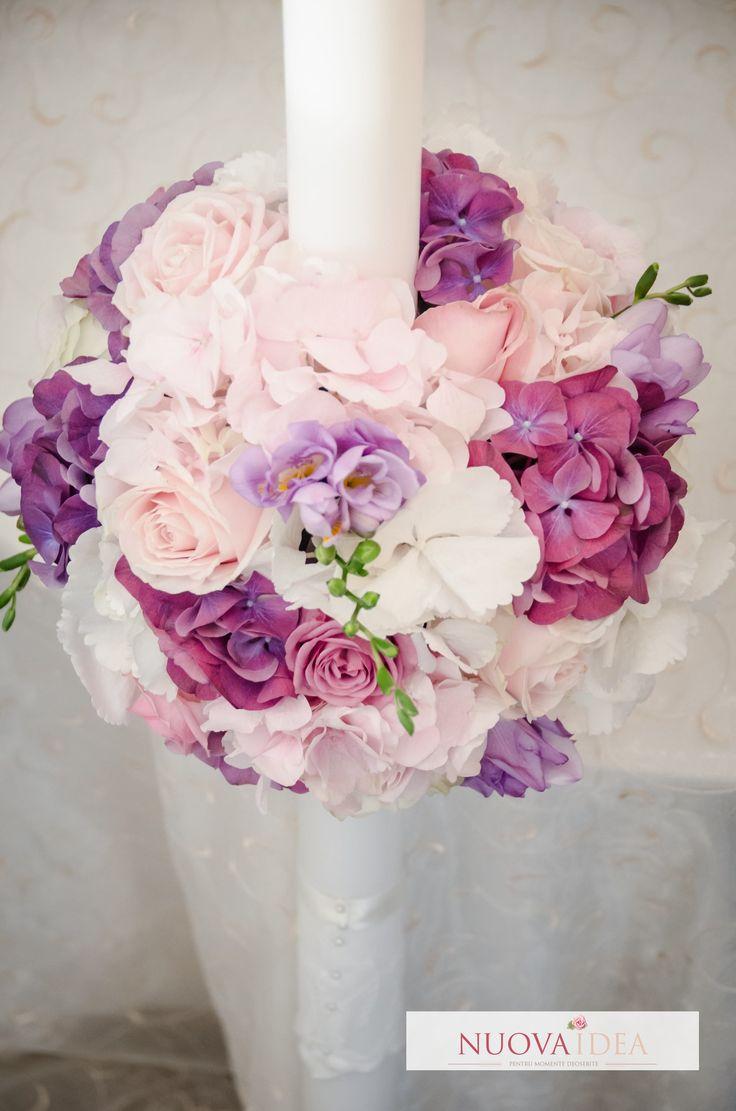 Purple flowers | Nuova Idea