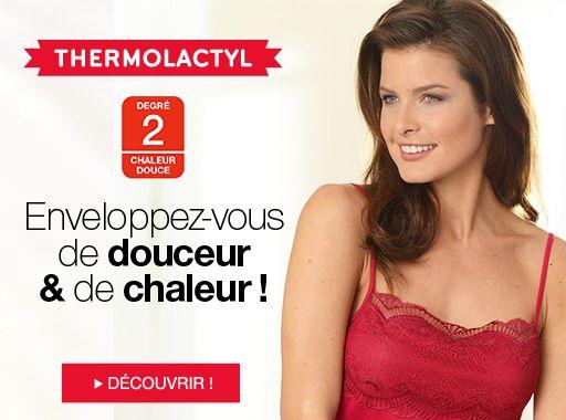Damart Thermolactyl pas cher - Collection sous-vêtements Femme Damart