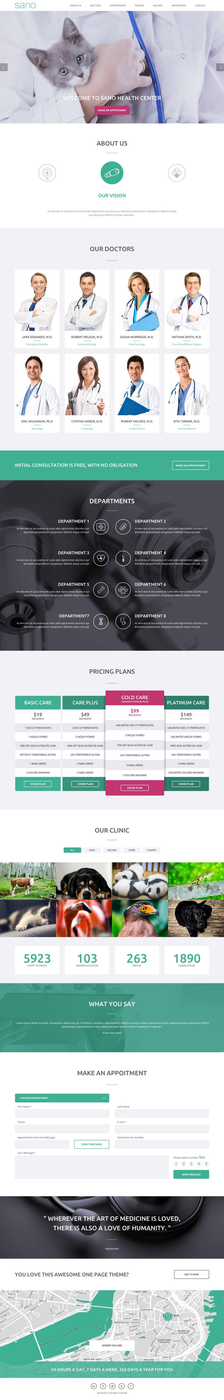 64 best medical website app images on pinterest website designs