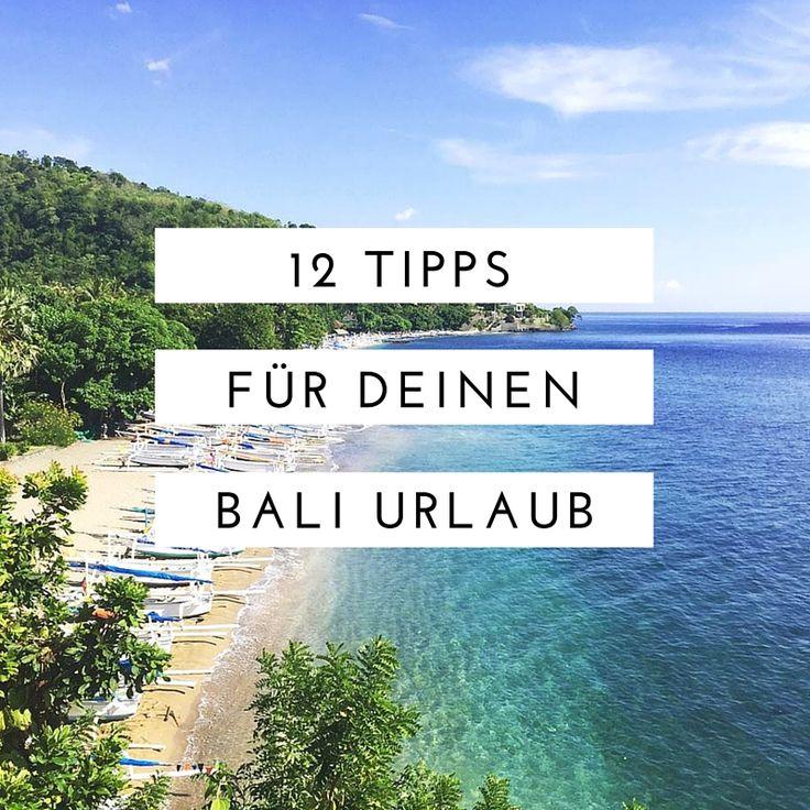 Du möchtest sicher gehen, dass dein Bali Urlaub zu einem unvergesslichem Erlebnis wird? Dann schau dir unsere 12 Bali Tipps für deinen Bali Urlaub an.