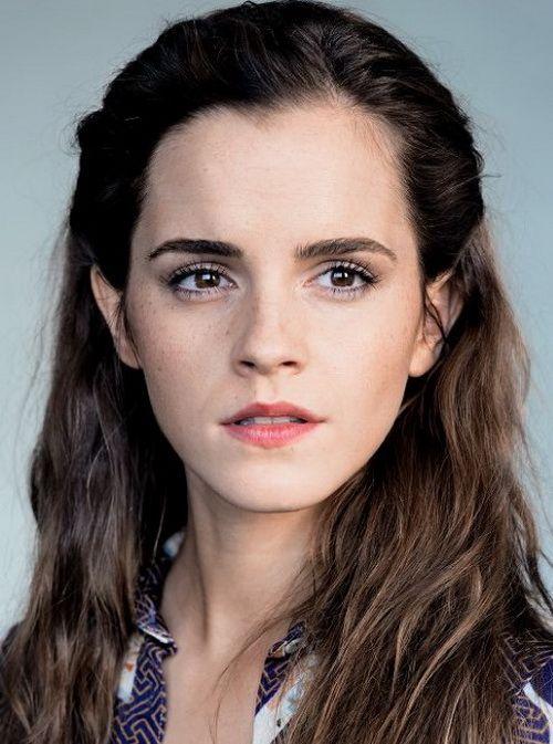 Emma Watson Natural Hair Color