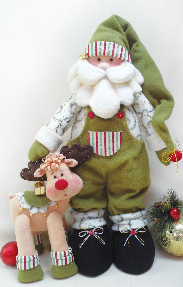Papail Noel para completar a decoração do seu Natal!