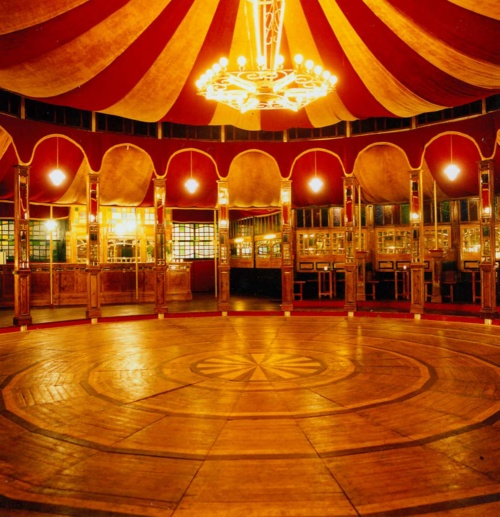 The Famous Spiegeltent :) a fave spot during the summer!