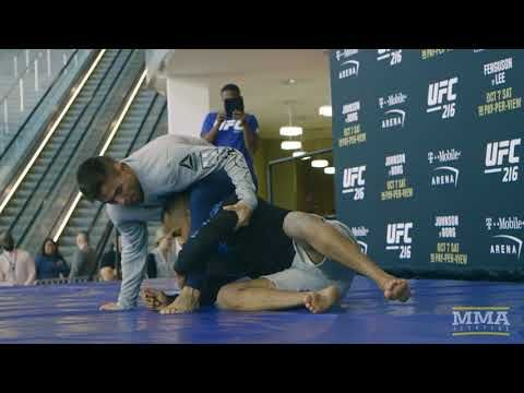 MMA UFC 216: Ray Borg Open Workout Highlights - MMA Fighting