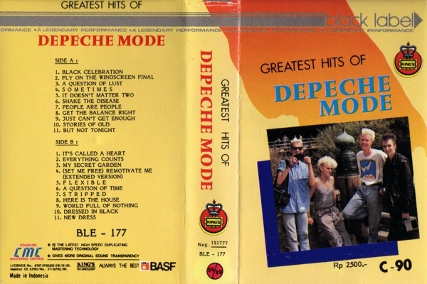 "Depeche Mode - Greatest Hits (Indonesian cassette) Can't quite recall ""Stories of Old"", but it was doubtless an Indonesian smash."