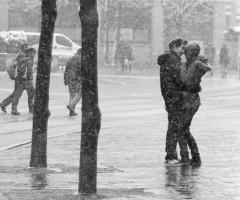 Kiss me in the rain.: Bucket List, Kiss, Life, Engagement Photos, Snow, Couple, Photography, Rain