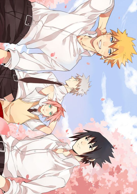 Follow that Firefly! | Naruto, Kakashi, Sakura and Sasuke