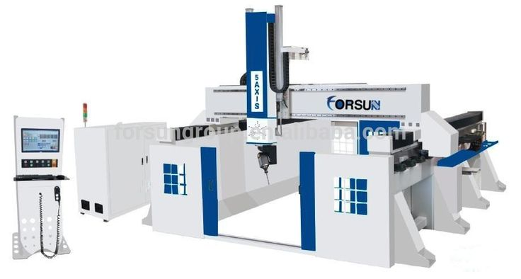 CE supply china 5 axis cnc milling machine with heavy duty/combination woodworking machines for sale