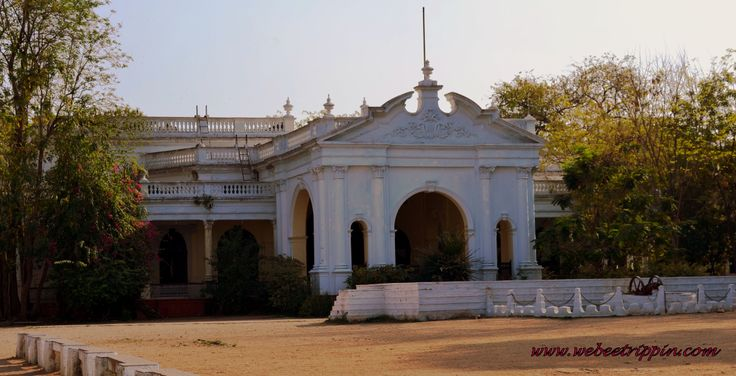 Hyderabad - Historical Old City. Palace of the Nizams Museum
