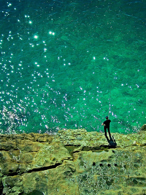 fishing a star by leowincy, via Flickr
