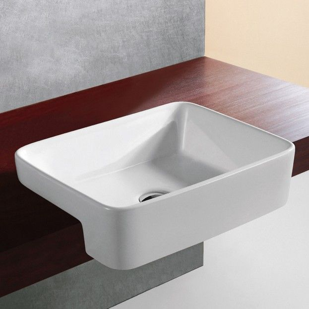 Trinity Semi-Recessed Basin