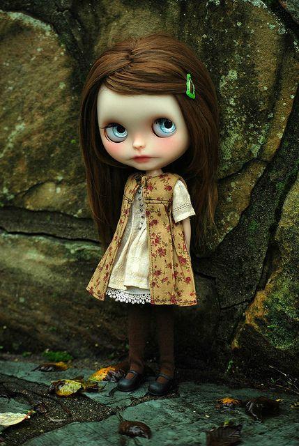 Mori Girl and Romance by AtomicBlythe has the FLU...ugh, via Flickr