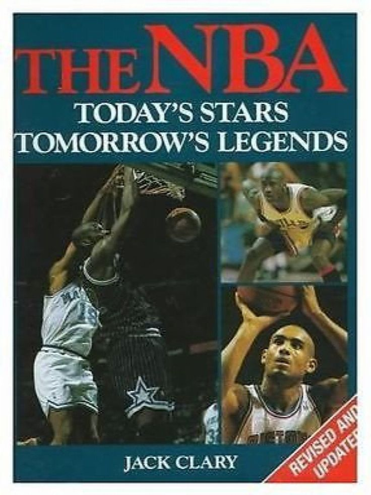 NBA, Today's Stars, Tomorrow's Legends by Jack Clary (1996, Hardcover)