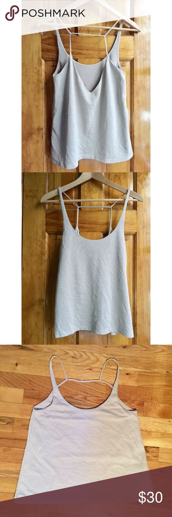"""Zara Beige Cami Tank Top SMALL Bust:15"""" Length:17"""" // Size:S // 15% off on bundles // I ship same-day from pet/smoke-free home. Buy with confidence. I am a top seller here with over 400 5-star ratings and A LOT OF LOVE NOTES. Check them out. 😊😎 Zara Tops Tank Tops"""
