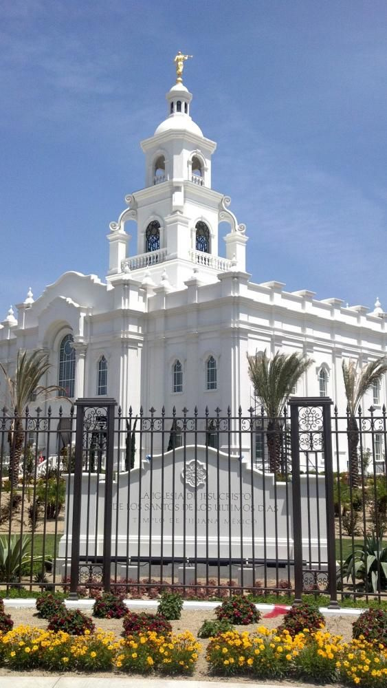 Tijuana Mexico LDS (Mormon) Temple Construction Photographs