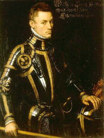 """This is William I, Prince of Orange also know as William the Silent. He was the main leader of the Dutch revolt against the Spanish that set off the Eighty Years´ War and resulted in the formal independece of the United Provinces in 1548. The Dutch refer him as """"Father of their Fatherland."""""""